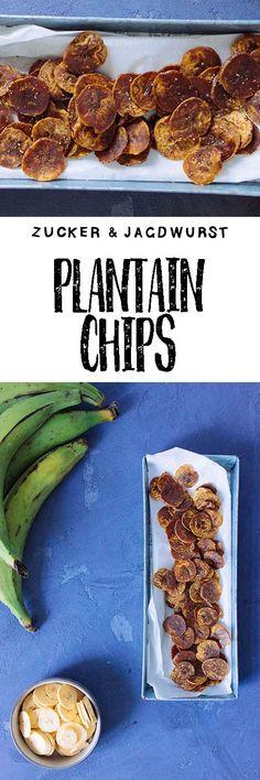 Easy Healthy Snack: Vegan Plantain Chips with Coconut Sugar