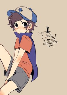 Dipper And Bill, Dipper And Mabel, Dipper Pines, Gravity Falls Anime, Reverse Gravity Falls, Reverse Falls, Billdip, Fall Anime, Star Vs The Forces Of Evil