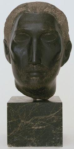 William Zorach Head Of A Christ 1941 William Zorach