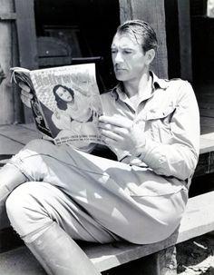 Gary Cooper, 1940s.
