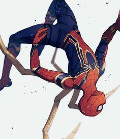 Marvel Comics, Comics Anime, Marvel Heroes, Marvel Characters, Marvel Avengers, Parker Spiderman, Spiderman Art, Amazing Spiderman, Marvel Drawings
