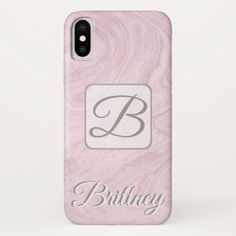#Custom White marble Iphone x case - #white #marble #gifts