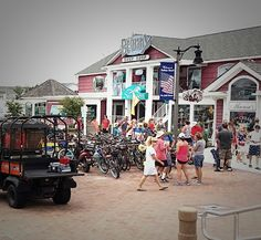 Downtown #BethanyBeach on July 4th.   #southerndelaware #beaches #BBDE #july4th #summer #holidayweekend