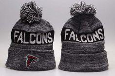 Atlanta Falcons Winter Outdoor Sports Warm Knit Beanie Hat Pom Pom Pom Pom Beanie  Hat 92361b64e