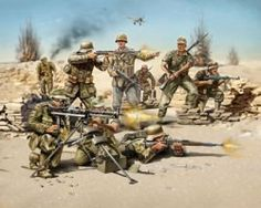 Deutsche Infanterie Afrikakorps WWII