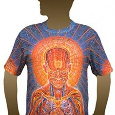 PRAYING ART BY #ALEXGREY #PSYCHEDELIC #PSY Psychedelic Fashion, Alex Grey, Boho, Mens Tops, Stuff To Buy, Clothes, Collection, Design, Art