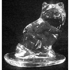 Viking Glass Cat Image