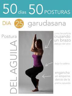 ૐ YOGA ૐ ૐ ASANAS ૐ   ૐ Garudasana ૐ 50 días 50 posturas. Día 25. Postura del Águila