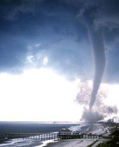 Tornado Myrtle Beach, SC July 6, 2001 thank God i wasnt life-guarding that day