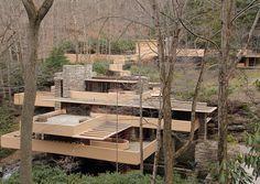 An alternate view of Fallingwater - Frank Lloyd Wright