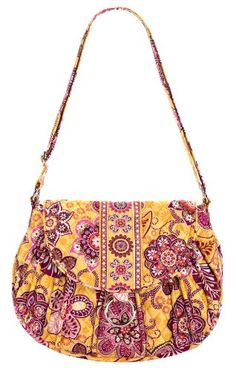 Women's Top-Handle Handbags - Vera Bradley Bali Gold Saddle Up Handbag *** Read more reviews of the product by visiting the link on the image.