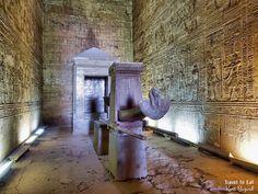 Sanctuary of Horus. Edfu Temple Egypt