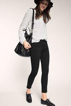 Esprit - Knöchellange Stretch-Jeans im Online Shop kaufen