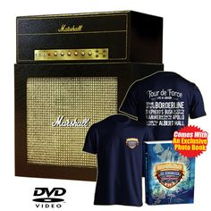 Tour de Force Amp Box Set with all 4 Blu-rays   FREE T Shirt