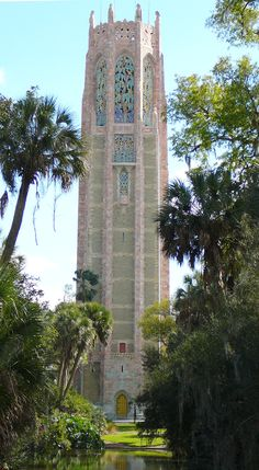 Bok tower gardens Florida. I have an old B&W photo shot in film of this beautiful tower from my cousin. He has who has been an accomplished, professional photography for years. Both photos combine two arts--architecture and photography.
