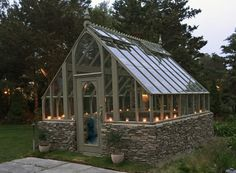 Greenhouse by Candlelight