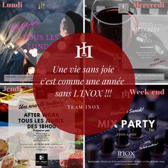#inoxbarclub #lachauxdefonds Events