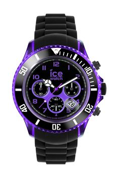 Need a beautiful watch? Look at ICE chrono electrik - Black - Purple - Chrono. Shop it for 149€ or £115 on Ice-Watch Official Webstore: https://www.ice-watch.com/be-en/ice-chrono/ice-chrono-electrik-p-26705.htm?coul_att_detailID=588&utm_source=SOC_Pinterest&utm_medium=Post&utm_content=Product&utm_campaign=2015-11-12_Product-Pinterest-ALL_ALL