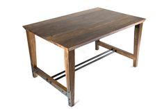 Huntsman Dining Table by Wes Walsworth. An exquisite design in treated ash.