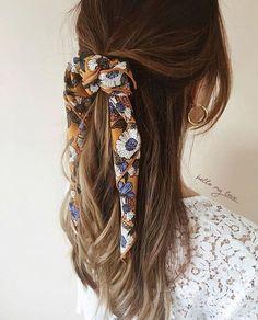 something special ♡ - - Flechtfrisuren - braided Hair - Haare - Scarf Hairstyles, Cute Hairstyles, Braided Hairstyles, Hairstyles 2018, Hairstyles Pictures, Ethnic Hairstyles, Black Hairstyles, Hairdos, Bandana Hairstyles For Long Hair