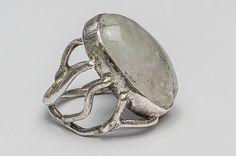 Handmade silver ring with quartz crystal . Silver Jewellery, Jewelery, Silver Rings Handmade, Quartz Crystal, Gemstone Rings, Gemstones, Crystals, Design, Jewlery