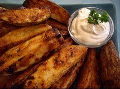 Football party food ideas..steak fries