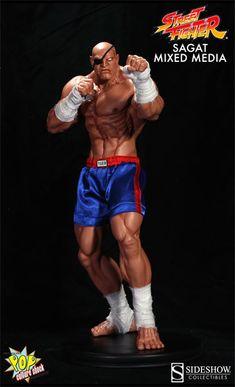 [POP CULTURE SHOCK] Street Fighter: Sagat Statue