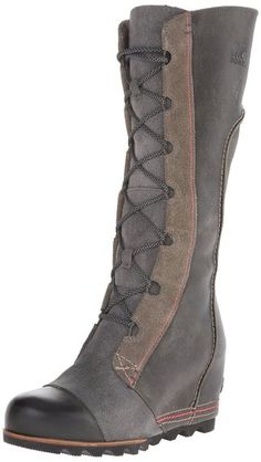 Sorel Women's Cate the Great Wedge Boots   Amazon.com