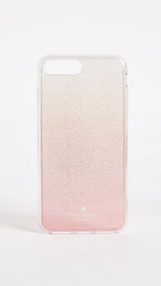Kate Spade New York Pink Glitter Ombre iPhone 7 Plus / 8 Plus Case #ad