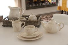Clayre & Eef Tea Set at Sophyorangine