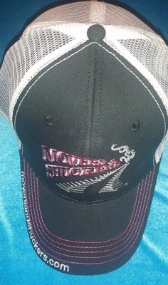 Farmer Trucker Hat Movers and Shuckers Curved Bill Strapback Cap Ohio #ProsperityPromotions #TruckerHat