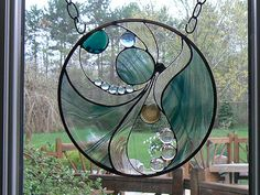 Not Your Traditional Stained Glass Window by Designed With Glass
