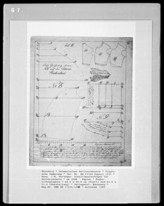 atelier polonaise: Bodice dress 1840  1848 pattern from Bildindex