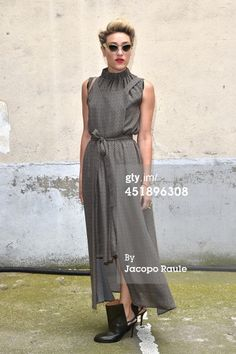 Mia Moretti arrives to attend the Maison Martin Margiela show as part... News Photo 451896308
