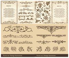 アンティークでかっこいい書類が作成できるテンプレート - Free-Style