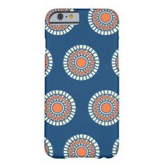 Preppy arabesque polka dot dots tribal pattern iPhone 6 case