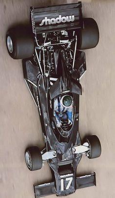 Jean-Pierre Jarier F1 - Shadows 70s