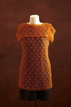 Crochet top pattern Designed by Lily Chin