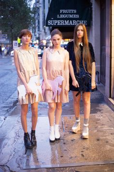 thewhitepepper:  Party Dresses on Les Parisiennes! Shop NEW IN Now! Like TWP on Facebook for daily styling tips and more!
