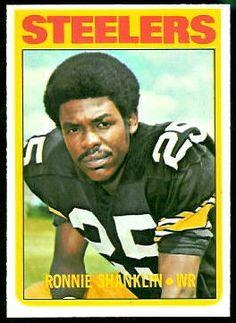 8451de097 Ron Shanklin - Pittsburgh Steelers (1973 Team MVP) Pittsburgh Steelers  Football