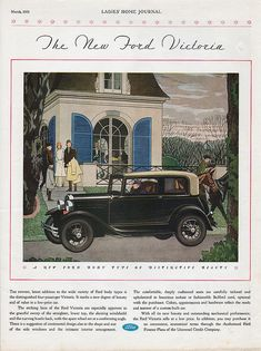 The New Ford Victoria March 1931 Ladies' Home Journal by Boats-n-Cars, via Flickr