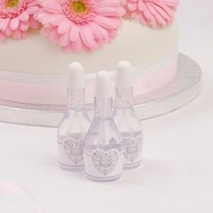 Vintage Romance White Wedding Bubbles
