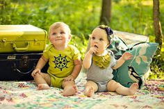 Baby Girl Bodysuit Moss Green Layers On Heather by EightBabyLegs