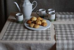 Natural Linen Napkins Set of 6 by magdalinenHome on Etsy, $27.00