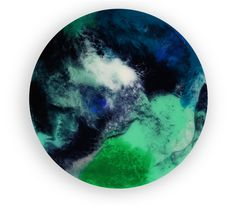 30cm circle resin artwork Abstract art Resin art Timber Panelling, Resin Artwork, Abstract Art, Clouds, Canvas, Building, Home Decor, Kunst, Tela