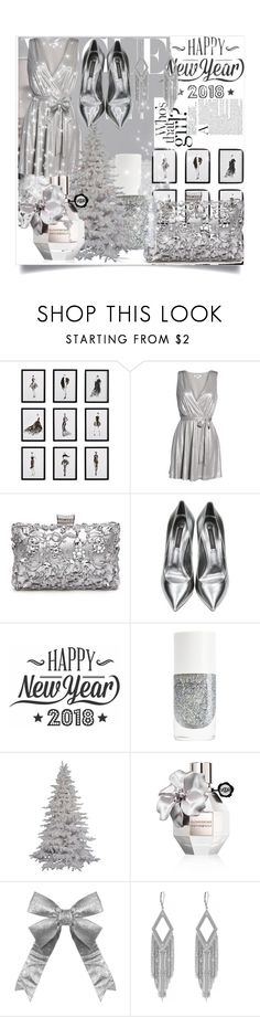 """Silver Lining"" by indiagrace2904 ❤ liked on Polyvore featuring Frontgate, BB Dakota, Casadei, Cricut, Viktor & Rolf and Jessica Simpson"