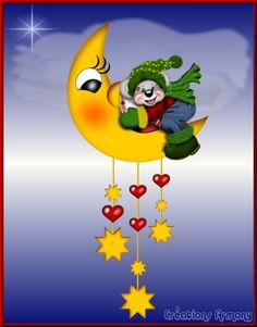 Cartes Postales Credit ourson Good Night Greetings, Line Friends, Tweety, Pikachu, Creations, Happy New Year, Cards