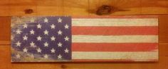 American Flag Sign – Red Barn Company Store