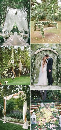 Wedding ceremony. Choosing a place for your wedding ceremony is just as crucial as picking out the reception location.