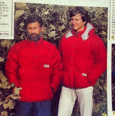 #TBT The Rab Andes Jacket and Kinder Smock from 1989!